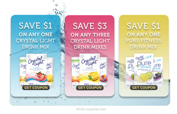 Crystal Light Has Released THREE New Printable Coupons On Their Facebook  Page U2013 And You Donu0027t Even Need To U201clikeu201d (fan) Crystal Light To Print Them! Design Inspirations