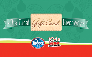 kroger more winners in the great gift card giveaway bargains to bounty. Black Bedroom Furniture Sets. Home Design Ideas