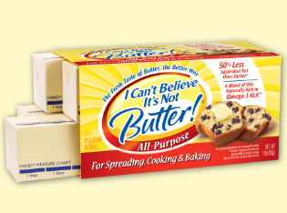 Can i use i cant believe its not butter instead of for cookies