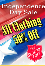 salvation army sale