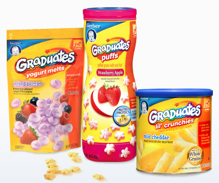 image relating to Gerber Printable Coupons referred to as Fresh Gerber Graduates and Youngster Foodstuff Printable Discount coupons