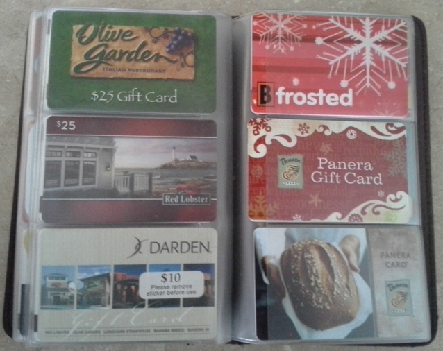 Gift Card Organizer An Easy Way To Corral Your Gift Card Collection