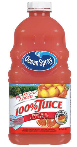 Ocean Spray Grapefruit Juice