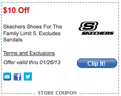 photograph regarding Skechers Coupons in Store Printable titled Meijer: Skechers Clearance + $10 off mPerks electronic coupon