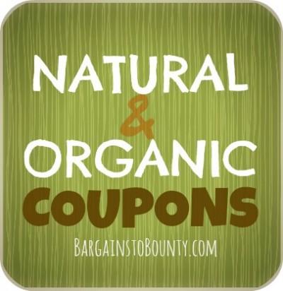 natural organic coupons