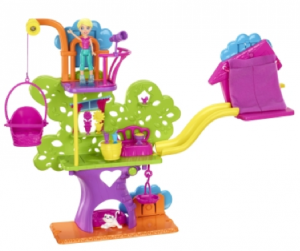 polly pocket wall treehouse