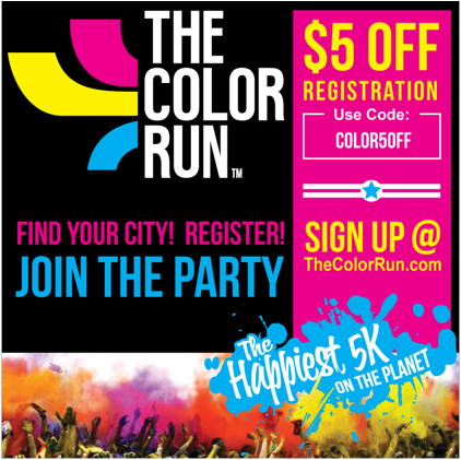 Expired The Color Run Coupons