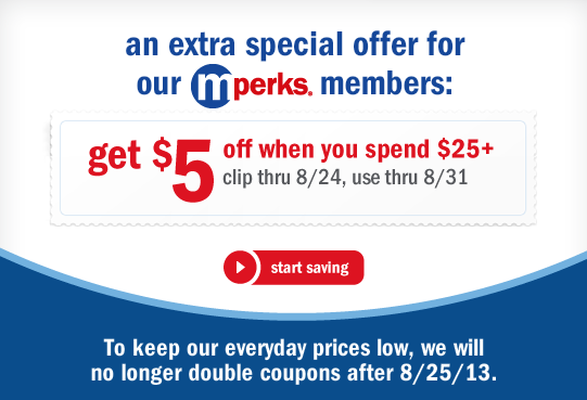 meijer coupon 5 off 25 mperks digital savings bargains to bounty