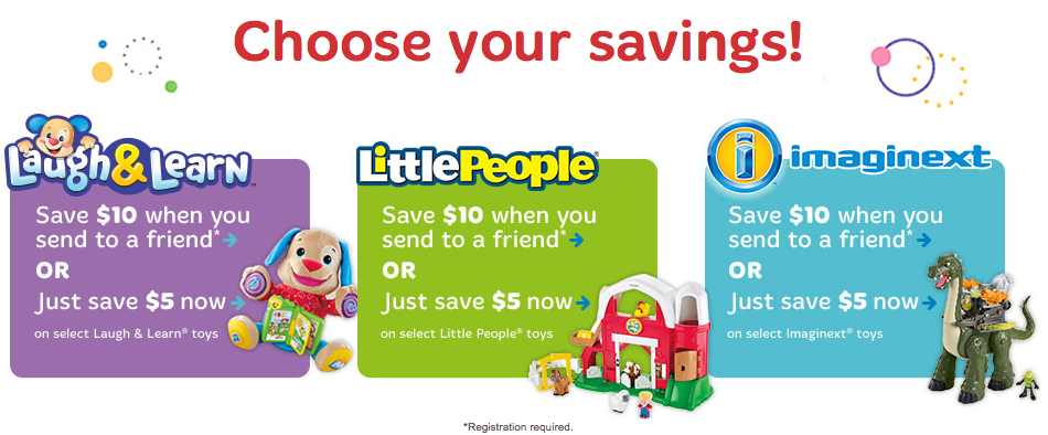 fisher-price toy coupon