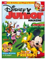 disney junior magazine