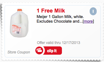 free gallon milk