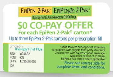 epipen coupon
