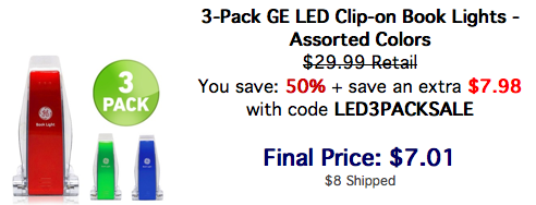 GE LED Book Lights