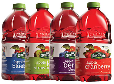 free old orchard juice blends