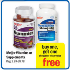 meijer vitamin sale