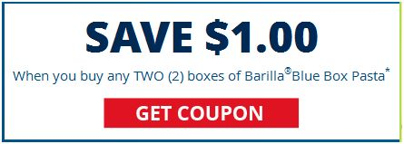 photograph regarding Meijer Printable Coupons titled $1.00/2 Barilla Pasta printable coupon \u003d $0.50 just about every at