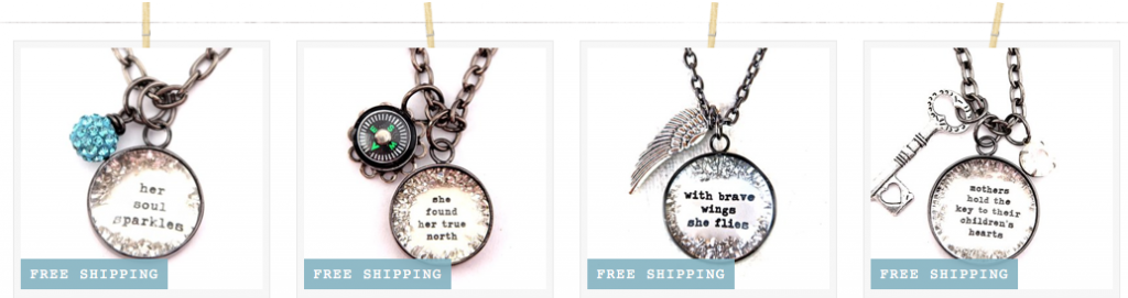 affirmation necklaces