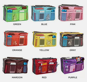 $5.99 Slim Bag Purse Organizer (reg $30) with free shipping ...