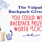 valpak backpack giveaway