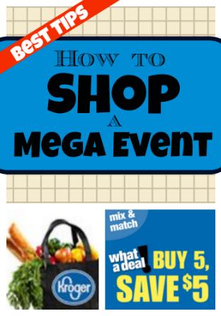 how to shop a mega event