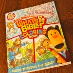 what's in the bible coloring book