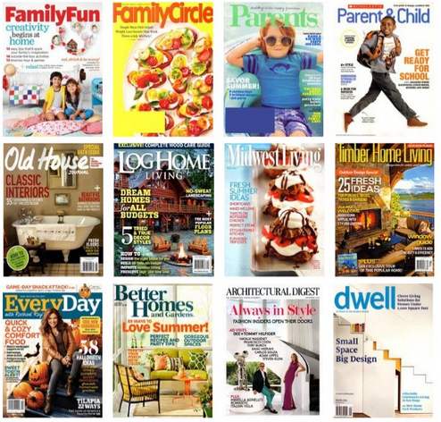 Magazine Sale: 2 subscriptions for $10 • Bargains to Bounty