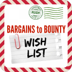 wish list