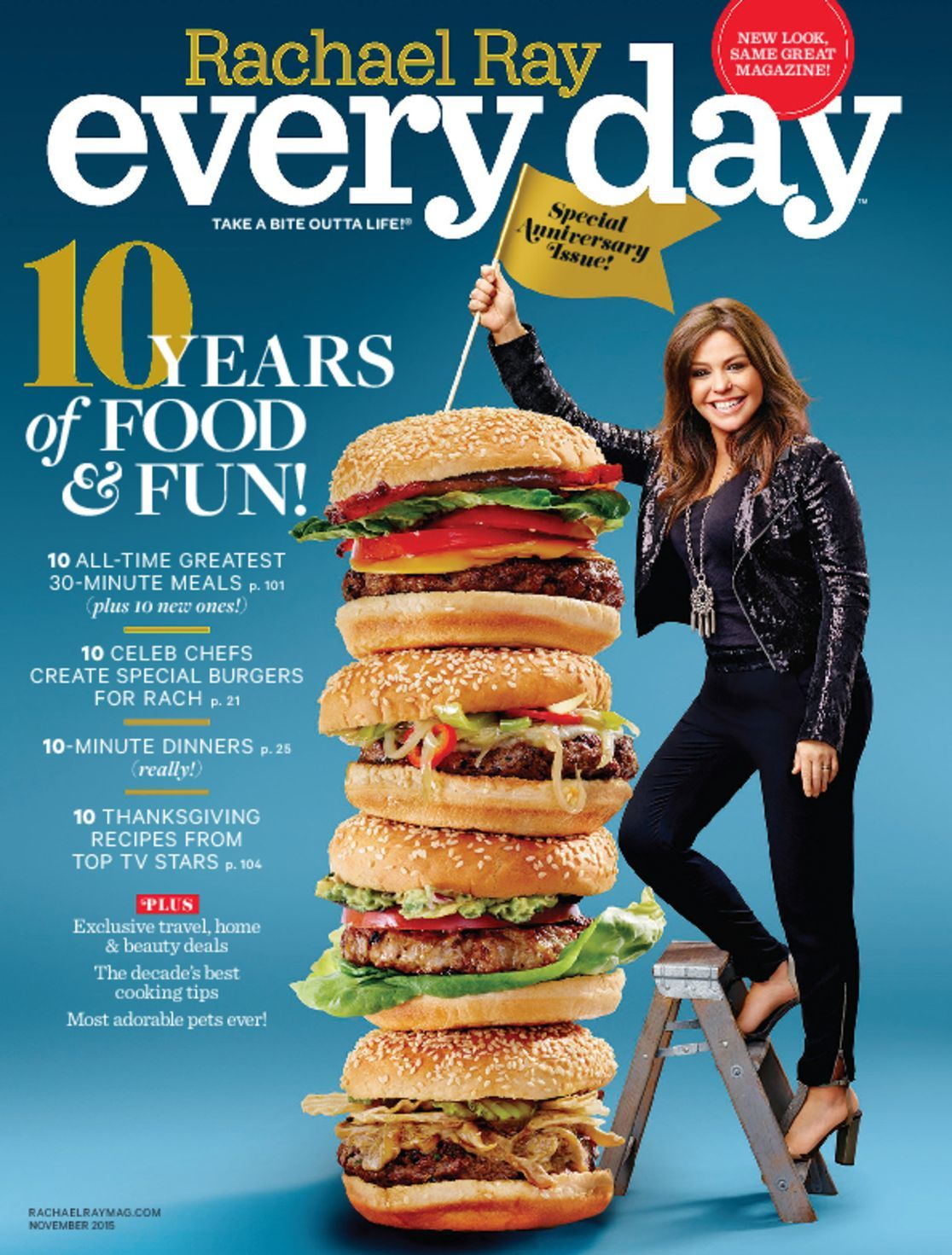 Rachael Ray Every Day Magazine Deal: $3.89 per year! • Bargains to ...