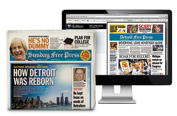 detroit free press deal