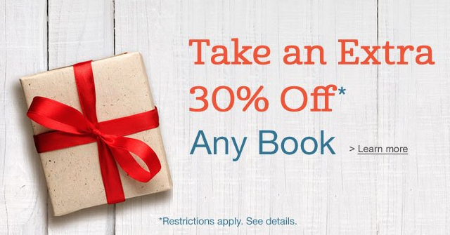 Amazon Coupon Code Save 30 Off Any 1 Book Bargains To