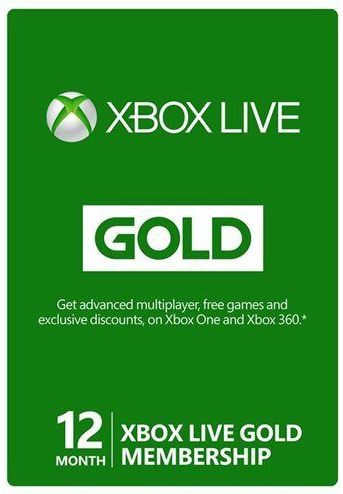 $39.99 Xbox Live 12 Month Gold Membership • Bargains to Bounty