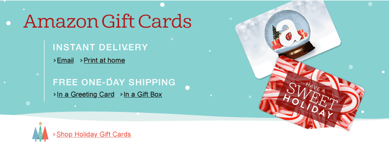 Amazon gift card free shipping