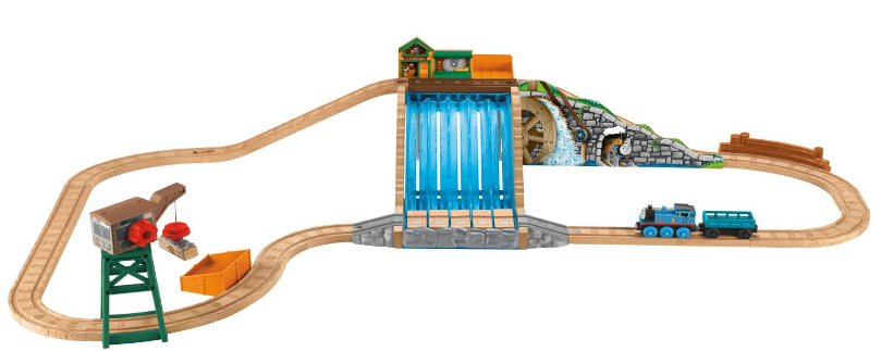 fisher price christmas train set