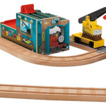 thomas wooden railway trackset