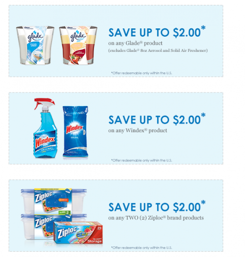photo relating to Windex Printable Coupon referred to as Glade, Ziploc and Windex Discount coupons (Candle moneymaker at