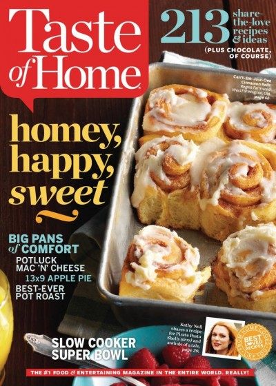 taste of home magazine sale