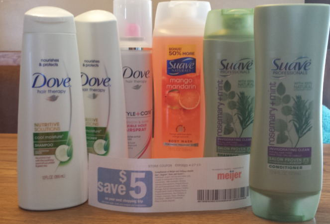 Meijer: As low as FREE Suave and Dove Products With Coupons, Sales and a Catalina Offer • Bargains to Bounty