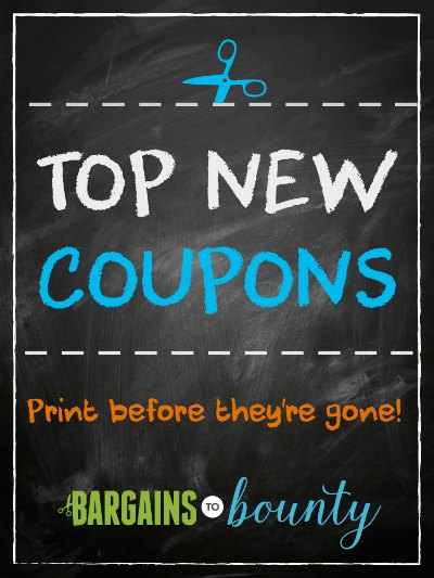 top new coupons to print