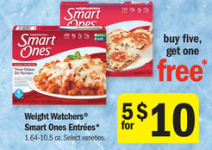 graphic about Weight Watchers Printable Coupons known as $2.00/$5.00 Fat Watchers Coupon \u003d $1.00 at Meijer ($1.21