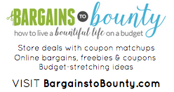bargains to bounty sharing cards