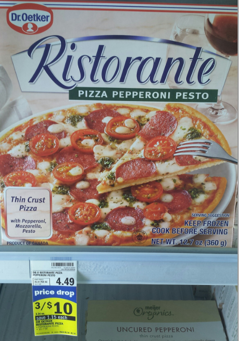 Coupons dr oetker pizza