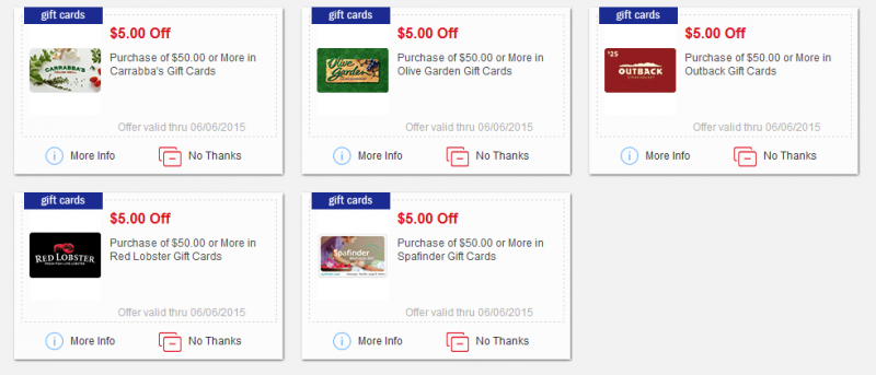 New Meijer Mperks Gift Card Coupons Olive Garden Outback