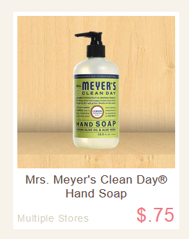 Mrs meyers coupon code