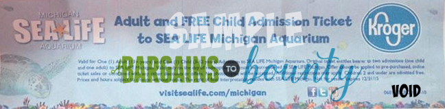 sea life michigan aquarium ticket deal