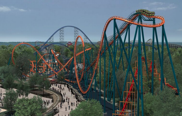 Rougarou, Cedar Point's newest rollercoaster