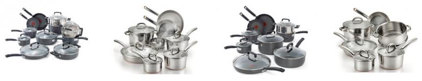 t-fal cookware sets