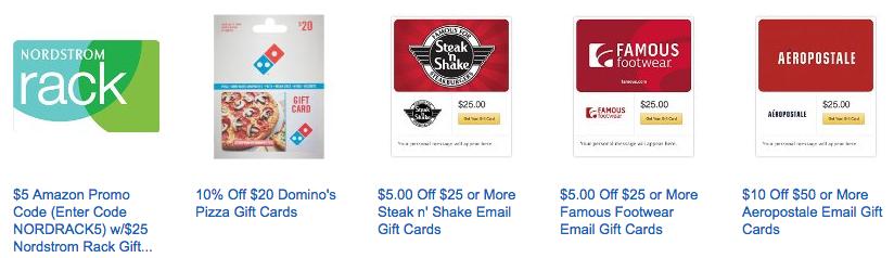 Gift Card Deals: Save 20% off Famous Footwear, Nordstrom Rack ...