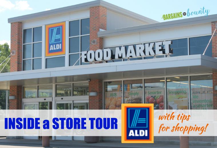 inside an aldi store tour