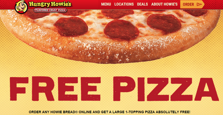 Coupon codes for hungry howies