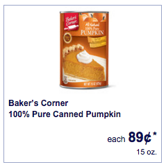 aldi canned pumpkin
